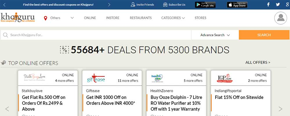 deal websites in india